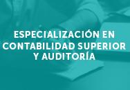 Especialización en contabilidad superior y auditoría