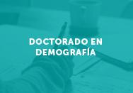 Doctorado en Demografía